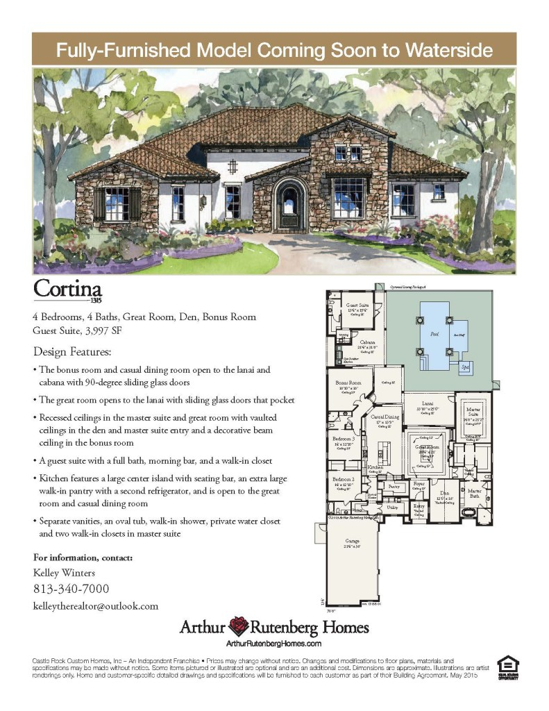 CorTINA NEW MODEL IN WATERSIDE, LAKE MARY